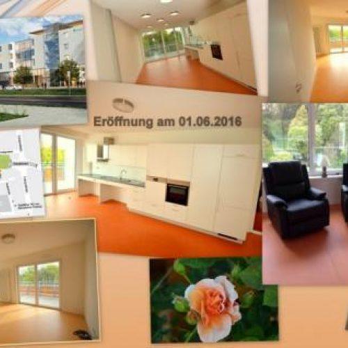 Am 01.06.2016 haben wir die Hausgemeinschaft Forum am Luitpoldpark eröffnet.